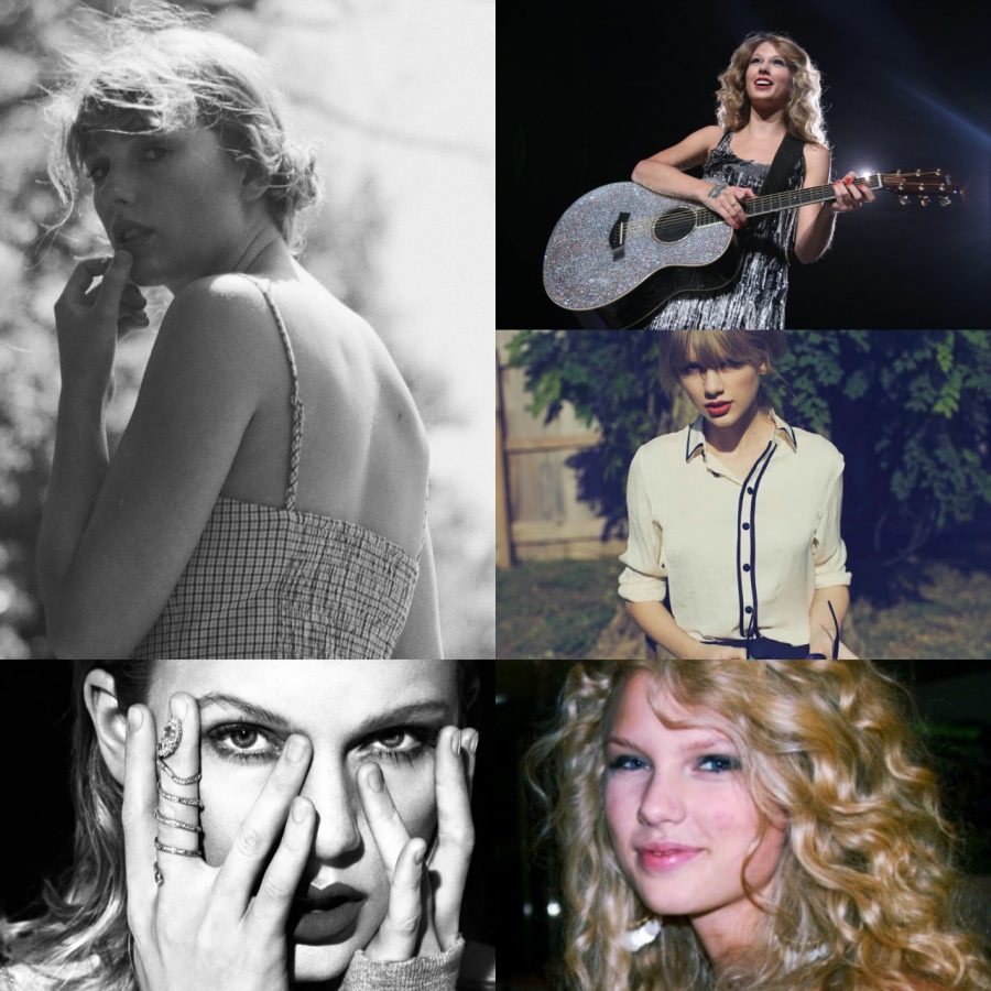 Taylor Swift has changed her style and look as her music has morphed from country to pop to indie.