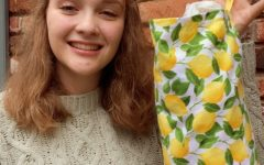 Aly Hogue (12) has constructed an Etsy shop  over quarantine selling various products such as candles and dish towels.