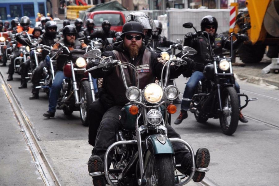 The Carlsberg experiment demonstrated that you shouldn't judge people by their appearances (even intimidating bikers).