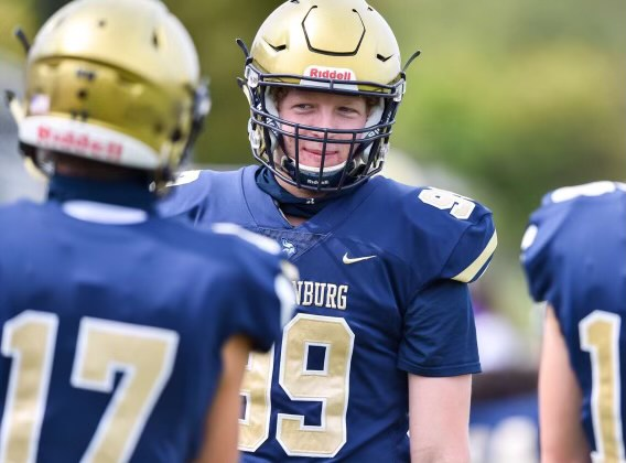 Enjoying his last season as a Viking, William Joyce  took his game to another level during the 2020 football season.