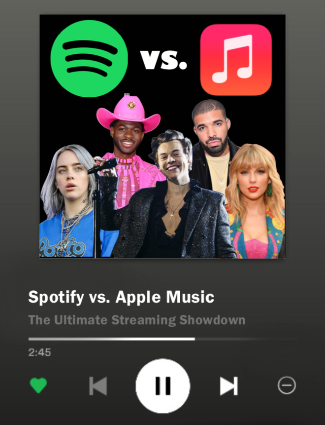 Today's music listeners most commonly use Spotify or Apple Music. But which service provides the best content?