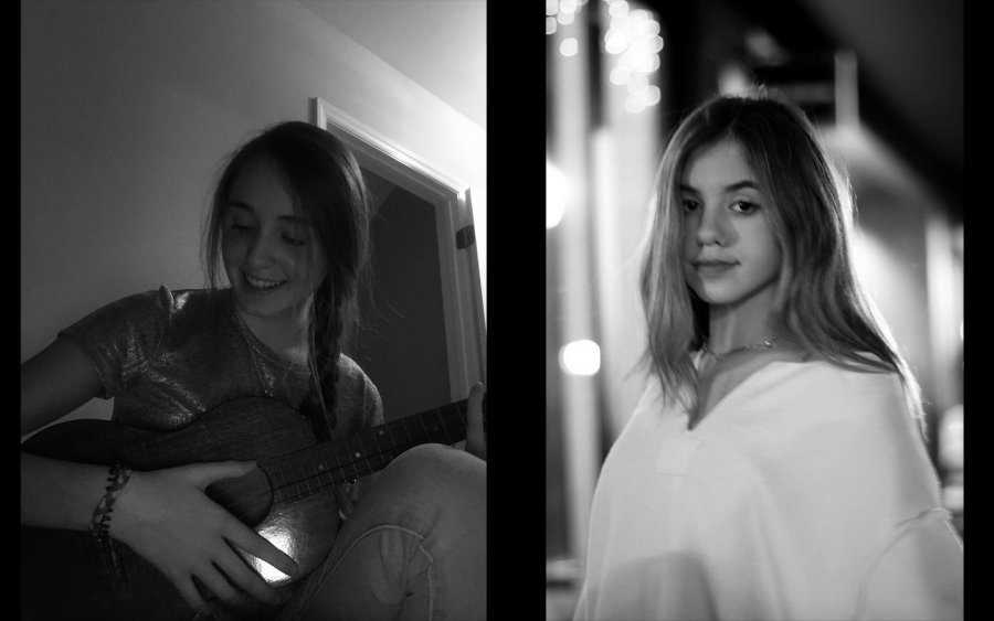 Both Anna Becknell (11) and Isabella McQueen (10) have Instagram accounts featuring their musical talents.