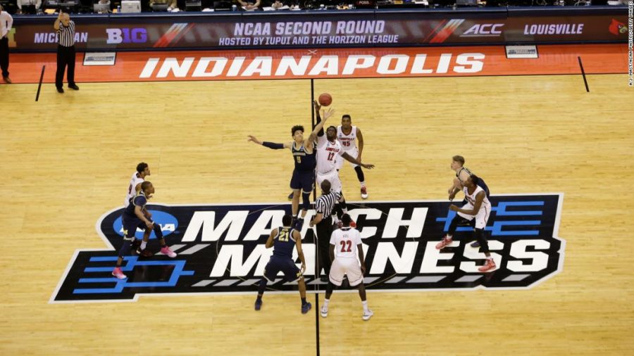 Michigan and Louisville tip off their second round matchup of the NCAA Tournament. Michigan is in the midst of a deep run in this years