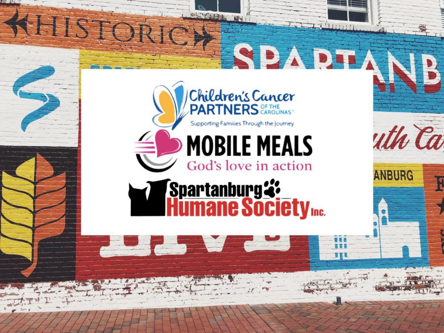 Many local options are open to volunteers such as Spartanburg Humane Society, Mobile Meals and the Children's Cancer Partners of the Carolinas.