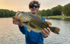 Although he likes to compete in various fishing tournaments across the state, Pierce Drummer (12) often enjoys the peace and quiet of fishing with friends in the lake behind his house.