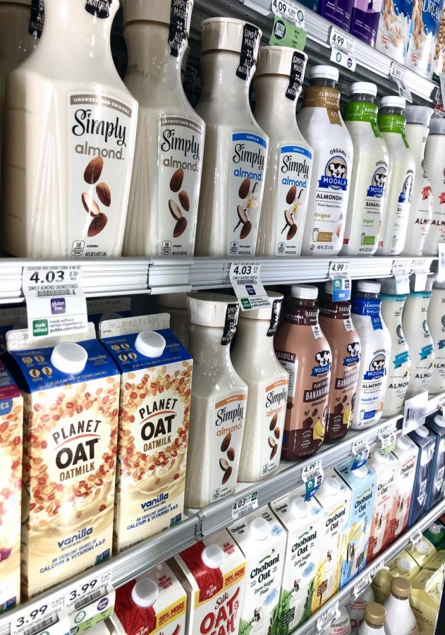 Numerous alternatives to dairy products are found across grocery store shelves.