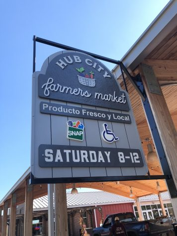 Expanding nutritious and fresh options through the Hub City Farmers Market helps to eliminate the food desert in the area.