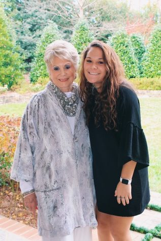 Natalya Carroll (12) poses with her Grand-Jo,  who she deeply admires and spends a lot of quality time with.