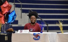Committing to play softball for South Carolina State University, Zarria Smith (12) foresees finding the balance between softball, academics and the college lifestyle.