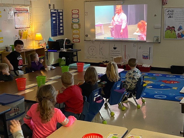 Children at elementary schools across Spartanburg County enjoy tuning into StoryBook Live! programs to hear readings of classic childhood stories.