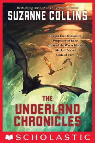 The Underland Chronicles is a five book series by best-selling author Suzanne Collins depicting the adventures of a boy who falls to another society beneath New York City.