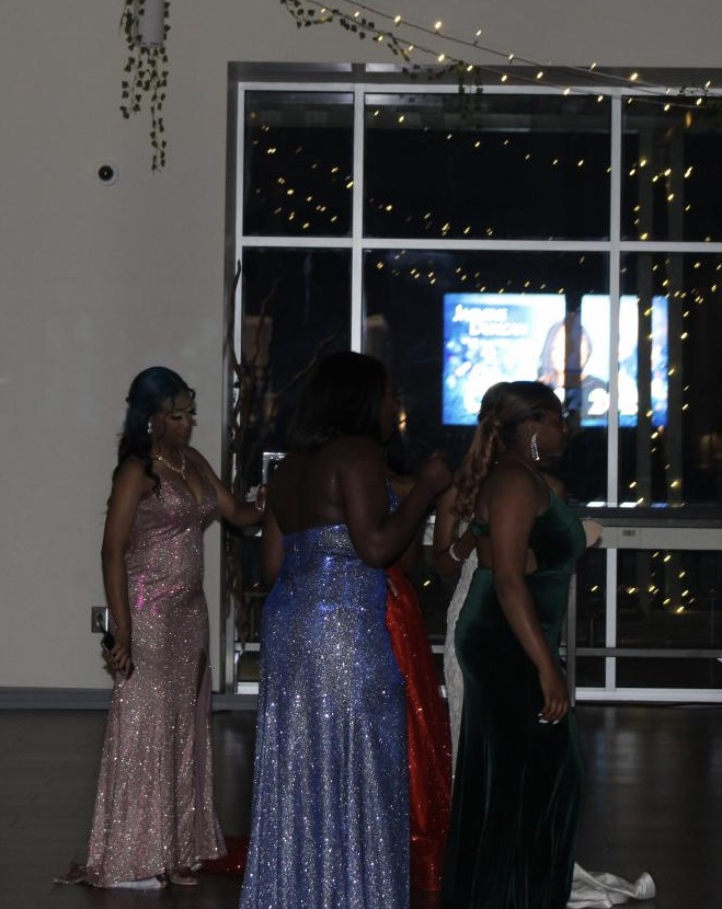 Students participate in the Spartanburg High School Prom, held at Spartanburg High School, on Saturday, May 15.