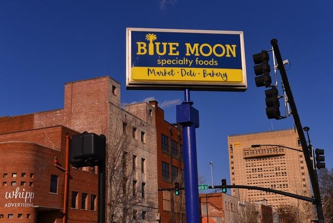Blue Moon is popular for both their frozen meals and various seasonal dining options. They are known for valuing fresh and seasonal foods.