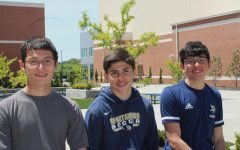 The trio of brothers, Ilan (12), Ruben (9), and Jerome Falcon (10) each competitively participate in athletics which creates lasting bonds between them.