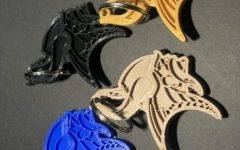 Viking keychains sold by Thomas Van Vleet (11) through the school store.