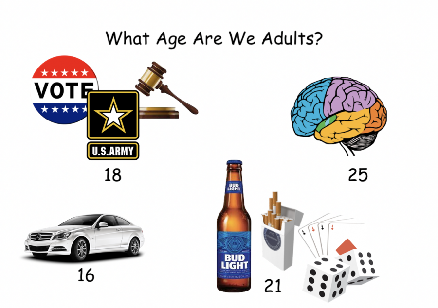 While+legally+considered+an+adult+at+age+18%2C+a+case+can+be+made+that+one+is+still+not+fully+mentally+developed+and+have+many+abilities+restricted+until+the+age+of+21.