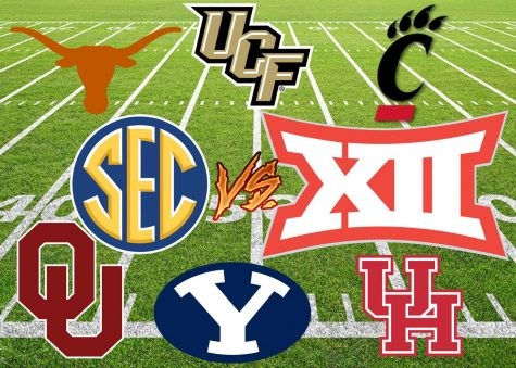 College teams remain in limbo as conferences get realigned, creating shake-ups in the college football world.